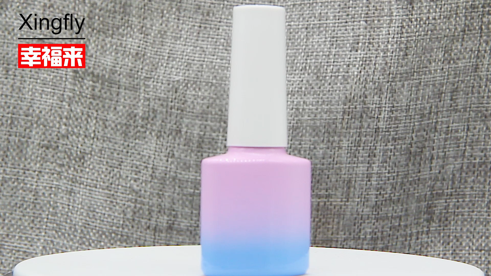 empty nail polish bottle  8ML square Glass Nail/ Gel Polish Bottle