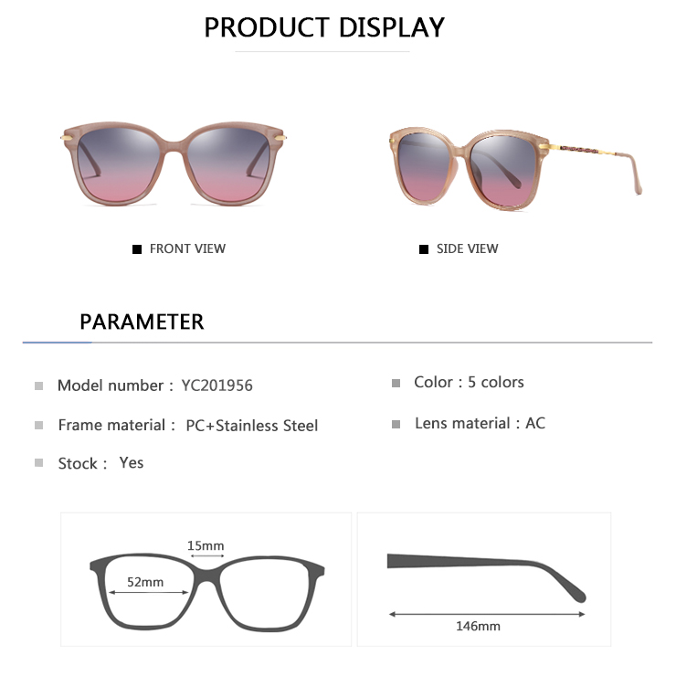 EUGENIA Wholesale Fashion Sunglasses For Women Sun Glasses