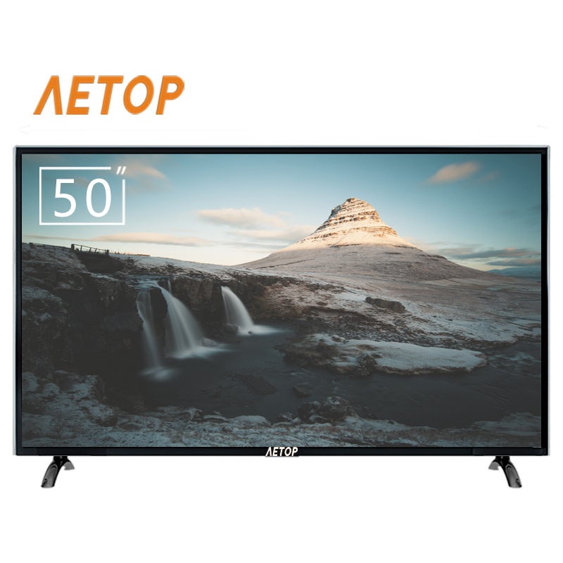 Free shipping-china manufacture 50 inch smart led tv explosion-proof flat screen television smart tv 4k with DVB-S2/T2