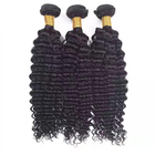 Mixed Length virgin cuticle aligned bundles Deep wave 100% real brazilian Hair pieces for black Women with long lasting