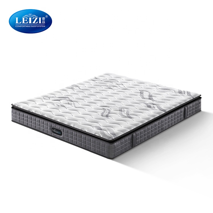 Factory Direct United Sleep Egg Crate Foam King Size Bonnell Spring Hotel Bed Mattress