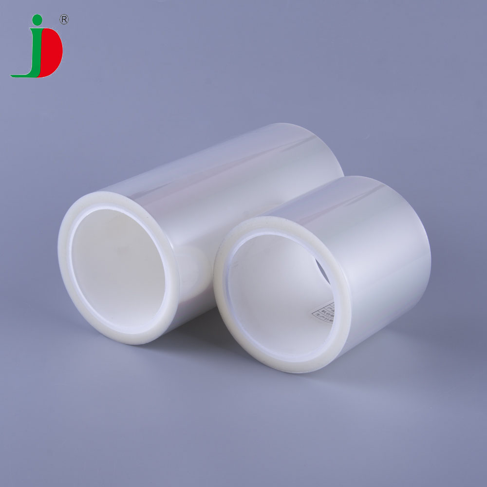 Silicone Glue Anti Static Masking Transparent PET Plastic Film <strong>Rolls</strong>