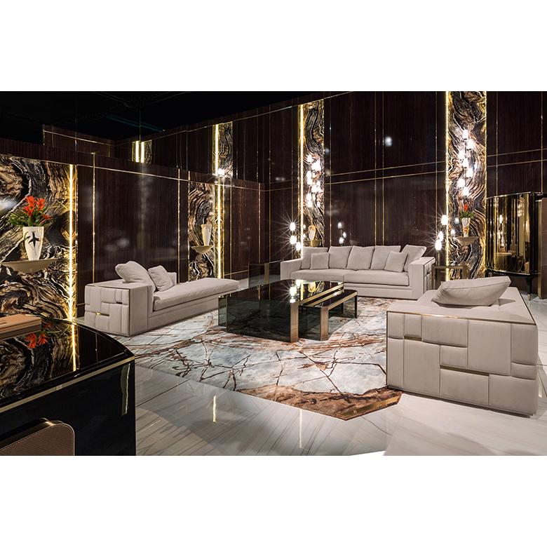 Su misura divano divano del soggiorno set di mobili con divano componibile