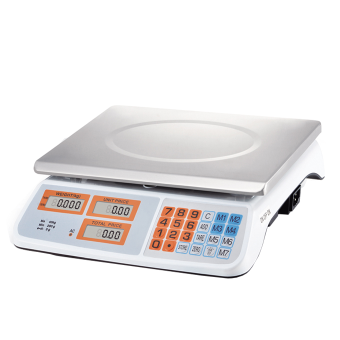 ACS-819 40kg Digital Price Computing Scale Electronic Weighing Scale for retail use
