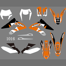 1016 3M Moto Dirt Bike Pit BIke Sticker Decal per KTM Freeride 250F 350F <span class=keywords><strong>2012</strong></span> 2013 2014 2015 2016 2017 2018 2019 2020
