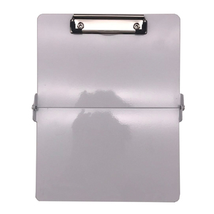 Wholesale factory direct sale foldable aluminum writing medical clipboard