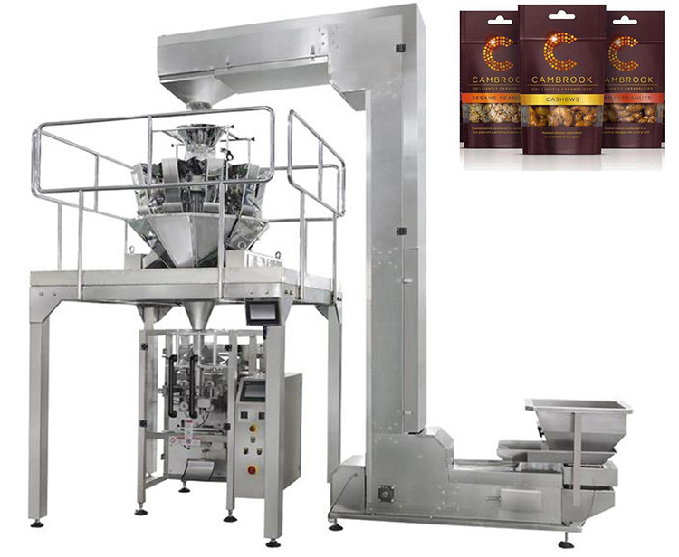 Food shea butter nut filling packaging machine in dubai