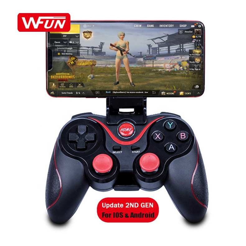Para Pubg Os Controles do Jogo Video Game Controller Gamepad Joystick Sem Fio Bluetooth Móvel para iOS Smartphone Android PC PS3