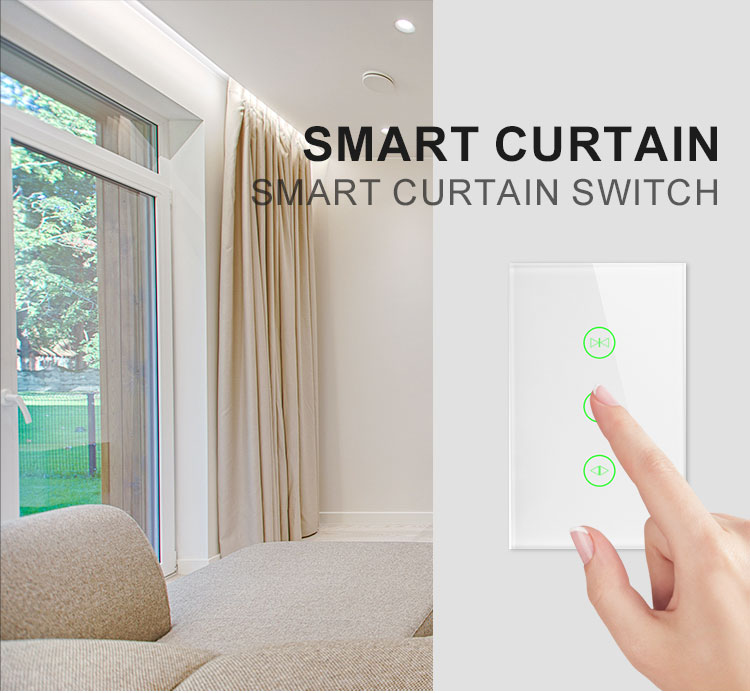 Newest Arrival Wifi Controlled Smart Electric Curtain Track