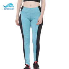 2020 fille sexy dames fitness <span class=keywords><strong>personnalisé</strong></span> colorblock jambières <span class=keywords><strong>de</strong></span> yoga