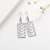 2020 Fancy Stainless Steel Dangle Earrings Hollow Vintage Gold Black Wedding Women Pendant Jewelry Women Gift Wholesales