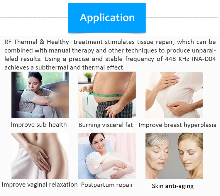 Wrinkle Removal Beauty Salon Machine Skin Tightening Body Slimming RF EMS Face Lifting Machine