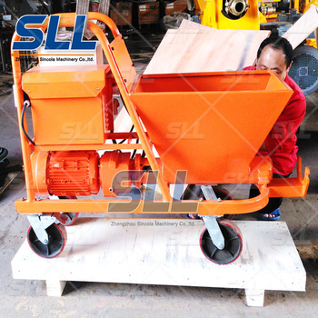 spray plastering machine SPT30 for spraying mortar to wall