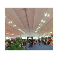 Shelter 35m outdoor event canopy for branding launch in Malaysia