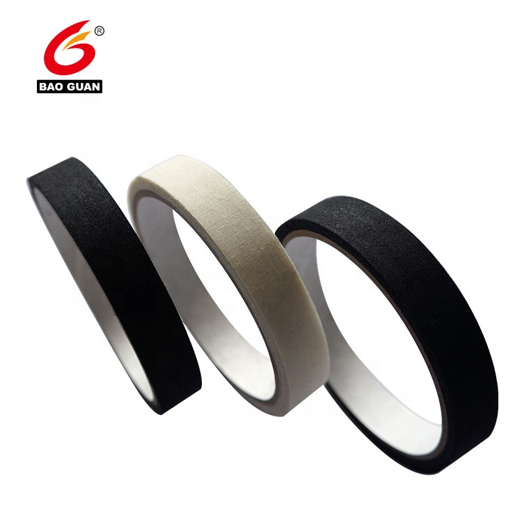 black adhesive Nylon Reinforcement Polyester Tape For Shoes