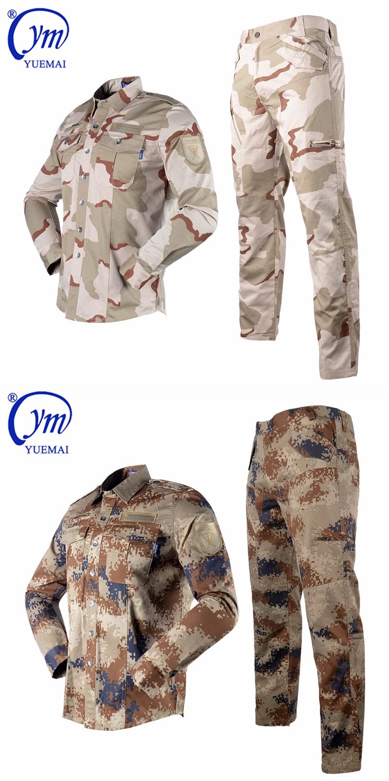 Hot sale customized ACU types army military uniforms