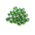 3/4 inch decorative colored stones pebbles green flat glass beads