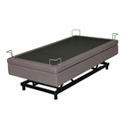 adjustable bed frame king with massage remote control can lift up and down