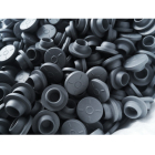 Butyl Rubber 20mm 100pcs Butyl Rubber Stopper Medical Rubber For Sealing Injection Vials Grey Color
