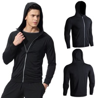 Special Discount Men Sport Jacket Polyester Fabric Gym Jacket Tracksuit Jacket with Low Prices