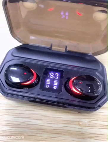 새로운 M15 TWS 블루투스 5.0 이어폰 충전 박스 무선 헤드폰 9D 스테레오 스포츠 방수 이어폰 마이크