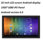 Android 32 Inch Lcd Display Screen HD IPS Android 6.0 32 Inch For Advertising