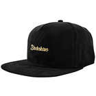 Custom Leather Strap Custom Vintage Unisex Black Solid Color Pure Suede Leather Strap Snapback
