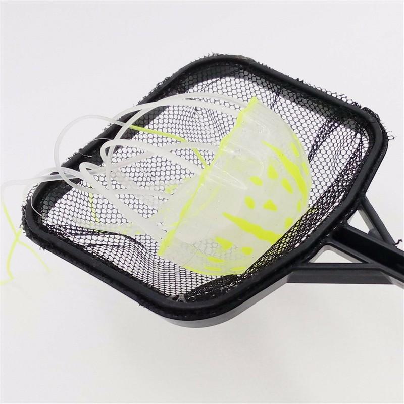 Portable Long Handle Square Aquarium Fish Tank Fishing Net Landing Net
