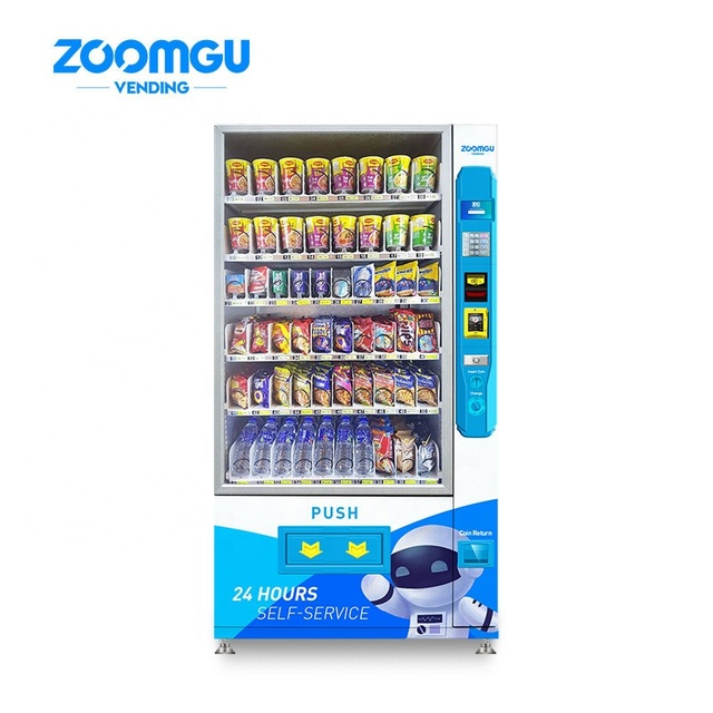 Zoomgu Large capacity automatic combo snacks drinks vending machines