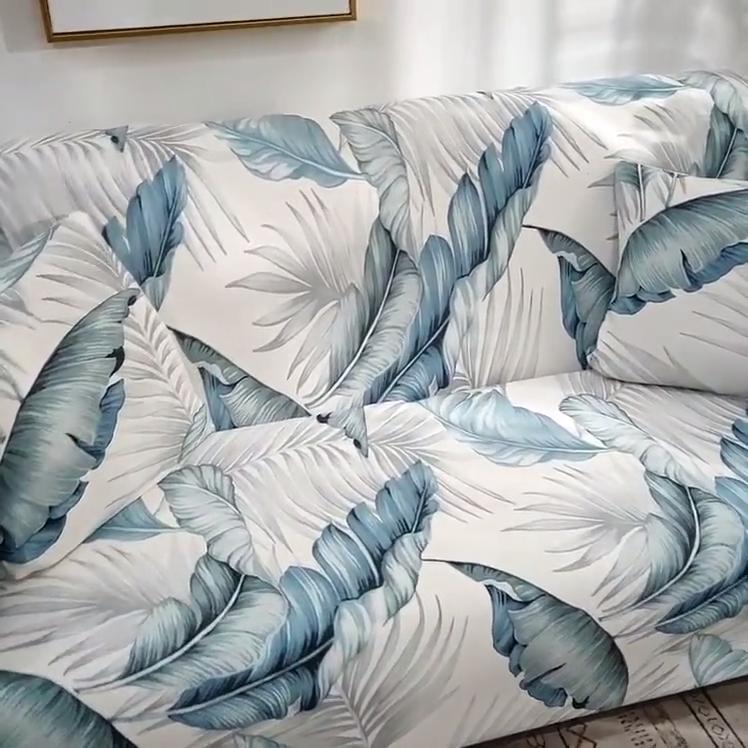 2020 Amazon hot sale design full cover elastic spandex corner sofa cover
