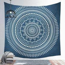 Настенный Гобелен мандалы, подвесной пляжный ковер, одеяло, палатка для кемпинга, дорожный матрас, спящий коврик, гобелен с индийской мандал...(Китай)