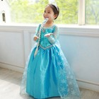 E142 High Quality Factory Price baby clothes frozen costume kids net design Cosplay party Girl dress