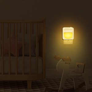 Plug-in Night Light for Kids, Dimmable Sensor LED Nightlight,Night Lamp for Baby Room, Bedroom