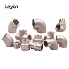 stainless steel pipe fittings prices 304 316 304L 316L 1/2 to 2 inch stainless steel elbow water plumbing pipe fittings