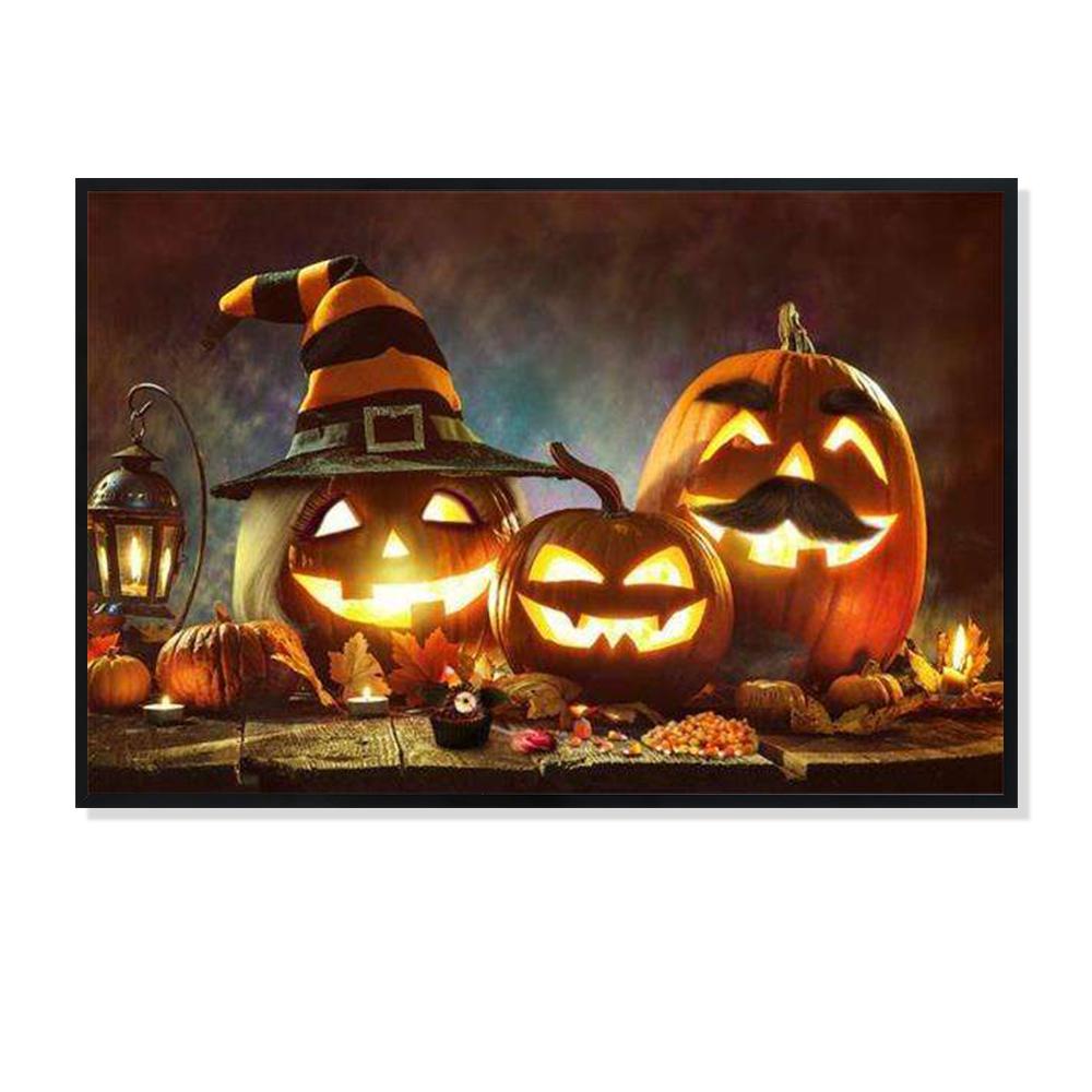 Шляпа Волшебника Джек-О '-фонарь, светодиодная роспись, роспись, Хэллоуин домашний декор