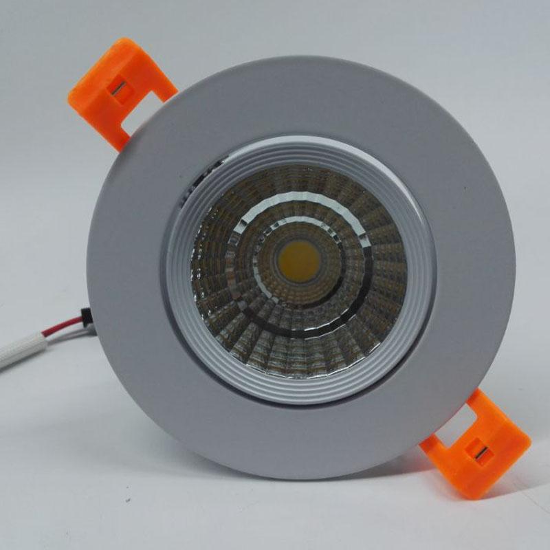 COB LED 5W 7W 9W 10W 12W LED down light CRI> 90 AC85-265V 3 year warranty LED ceiling light