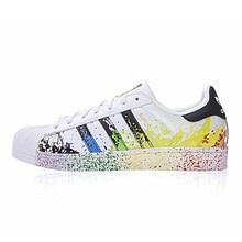Оригинальные кроссовки серии Адидас 917 с клевером для женщин и суперзвезд, Мужская модная цветная обувь для скейтбординга D70351(Китай)