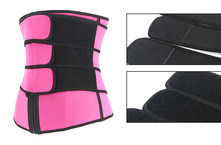 Fashionable custom logo neoprene sweat waist trimmer belt sauna long torso waist trainer