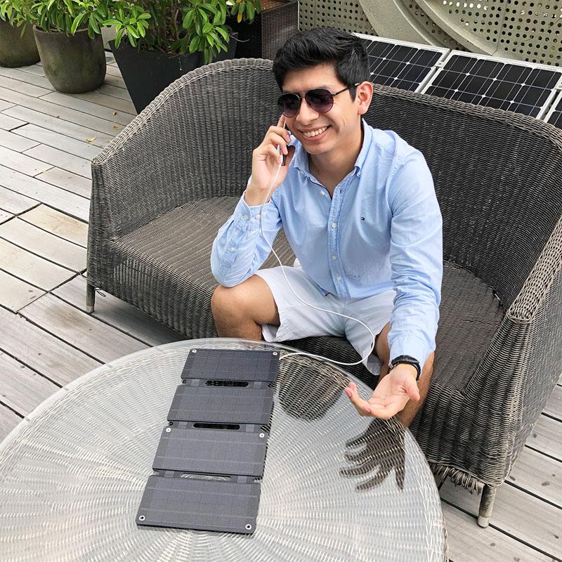 Складная солнечная панель портативный мобильный телефон солнечная панель Солнечная Панель зарядное устройство для ноутбука