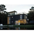 UPS new construction project real estate 80 ft home 3 story container house