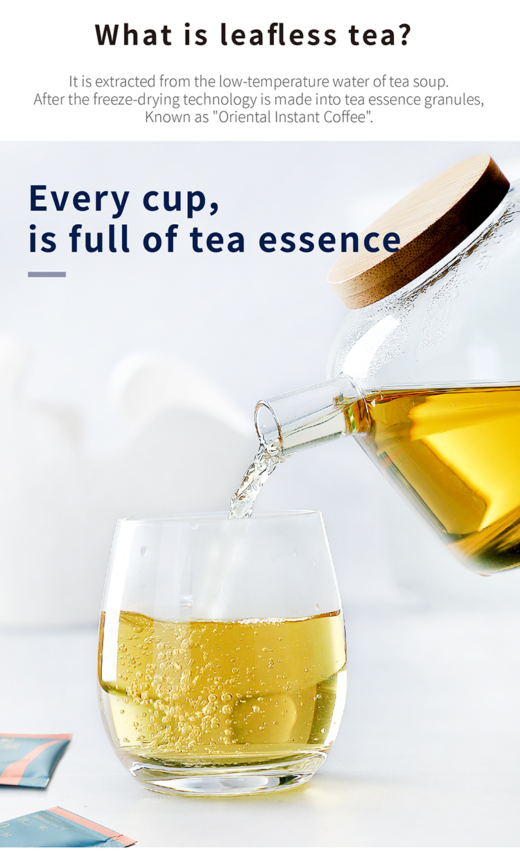 Instant Green Tea Extract Tea Essence Granules Teabag Cold Water Brewing - 4uTea | 4uTea.com