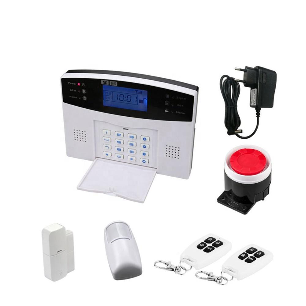 Sistema de alarma de seguridad GSM inalámbrico, sistema de seguridad antirrobo para el hogar con aplicación