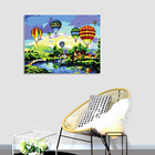 Hot Photo Painting By Numbers Frame Hot Sale Photo Handicrafts Framed Colorful Balloon Acrylic Diy Painting By Numbers