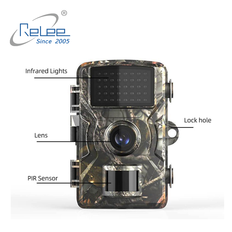 2020 New Infrared Security Camera Outdoor Battery Powered Night Vision Digital Trail Hunting Camera