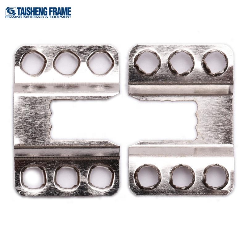 Sägezahn Metallrahmen Bild Aufhänger für den Foto Spiegel der mit
