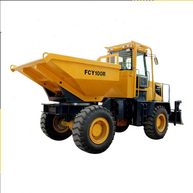 10 ton capacity diesel dumped truck for mining and building