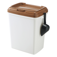 Wholesale Plastic Large Dog Food Storage Container Bin With Scoop