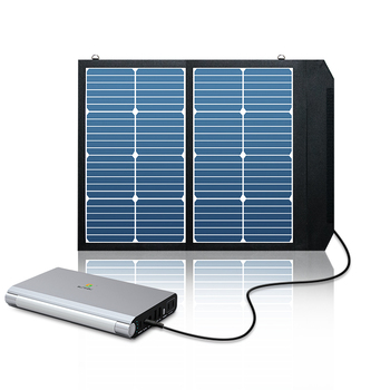 2018 Portable Solar Power Bank 27000mAh Backup Battery Pack with AC 110V, USB-C, USB and DC12V