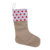 Party Decoration New design popular quality novelty santa Candy Socks Christmas indoor stocking sock