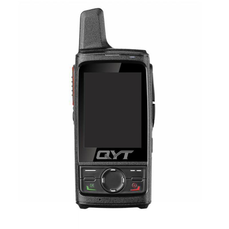 high capacity 4g walkie talkie Q8 with sim card